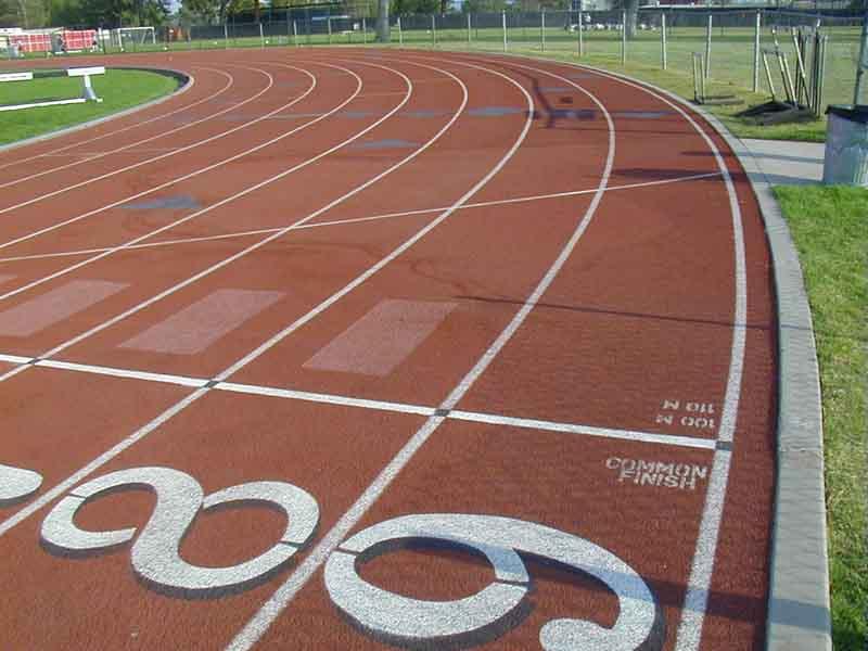Athletics Track Markings Diagram